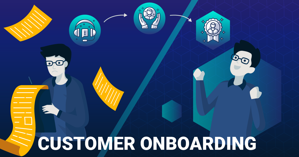 customer onboarding on blockchain