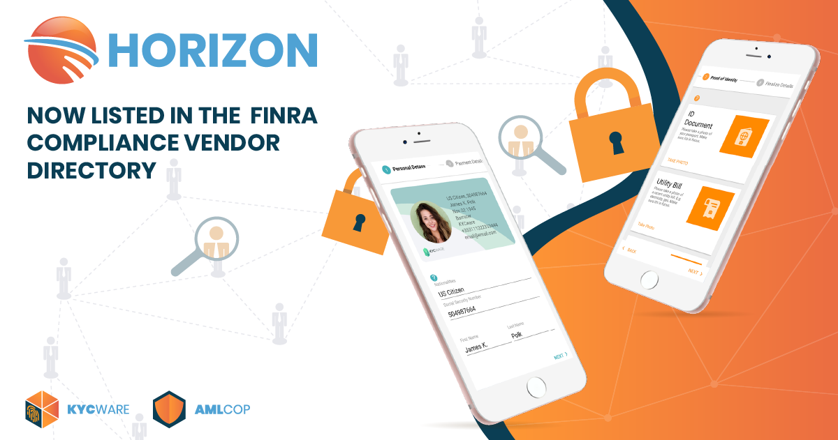 Horizon listed in FINRA Compliance Vendor Directory