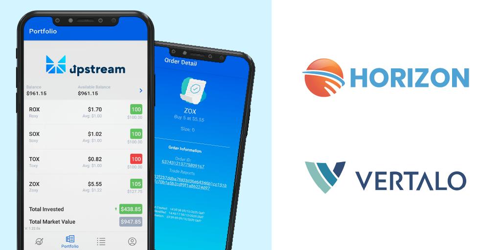 Horizon and Vertalo partner