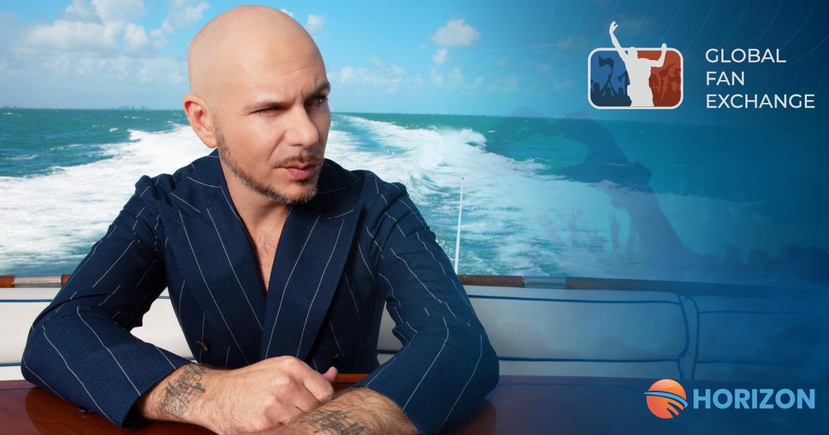 Pitbull joins Global Fan Exchange as strategic advisor